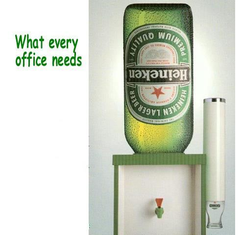 Beer Cooler. Heineken copyright by Heineken, NL.